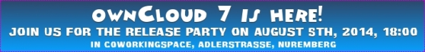 Release Party ownCloud 7